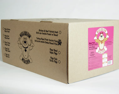 Mega Non Chicken Variety Pack Patties 24 lb Box