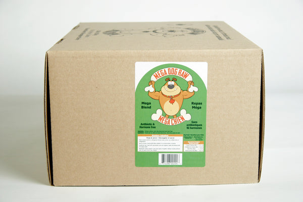Mega Dog Raw Pet Food - Mega Blend