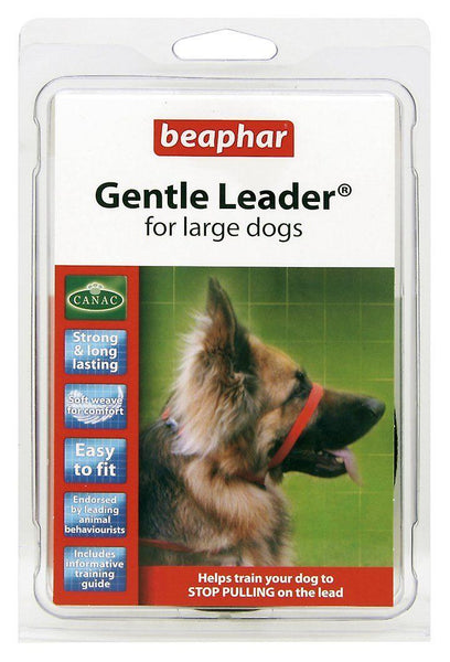 Gentle Leader® Head Collar | Non-Punishing Collar | All Sizes | Beige, Black or Red
