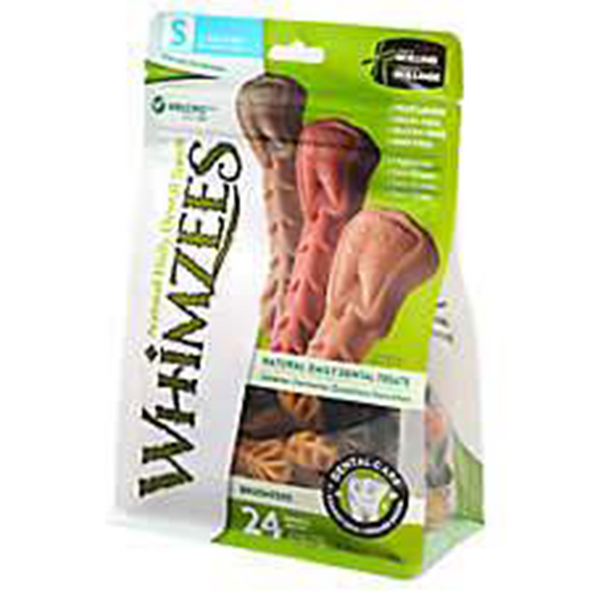 WHIMZEES Brushzees Grain Free Natural Daily Dental Dog Treats