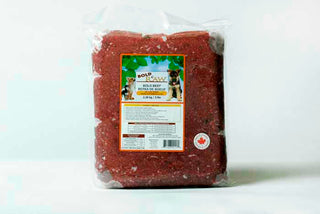 Bold Raw Beef | Raw Dog Food | 5lb bulk vacuum bag