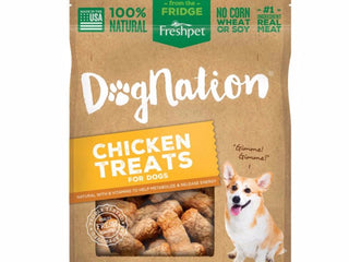Fresh Pet Dognation® Chicken Treats For Dogs | Chicken Dog Treats | 100% Natural Treats | 8 oz