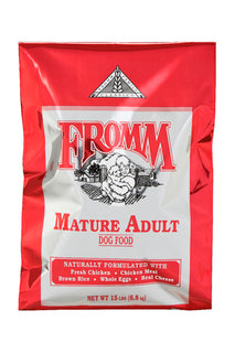 Fromm © Premium Classic Mature Adult Dry Dog Food | For Senior Dogs | 15lb or 33lb bag