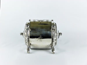 Victorian Silver-plated Biscuit Barrel, Phillip Ashberry and Sons, Sheffield