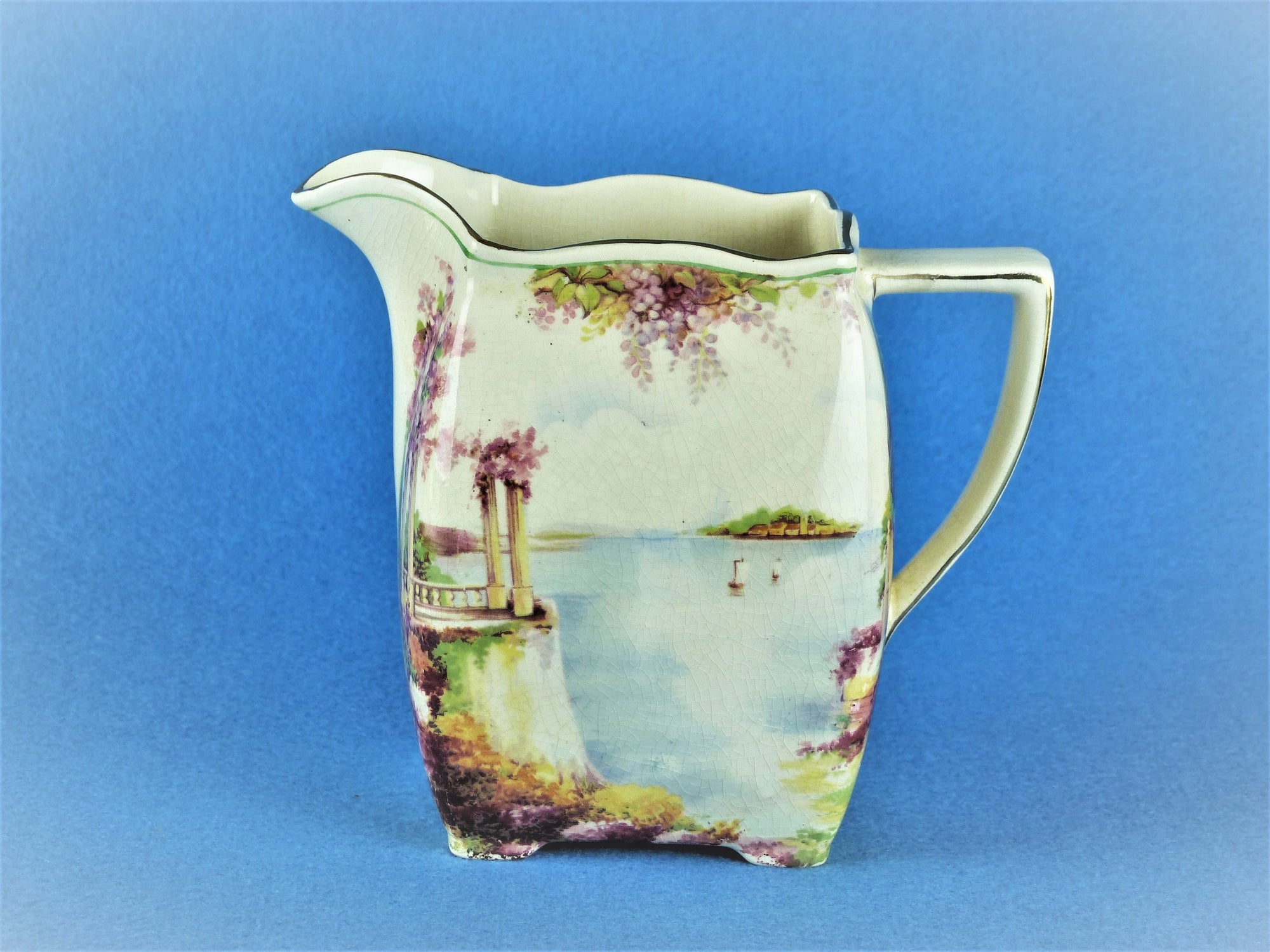 "Royal Winton Grimwades ""Como"" Jug, Duval Style, Very Pretty"