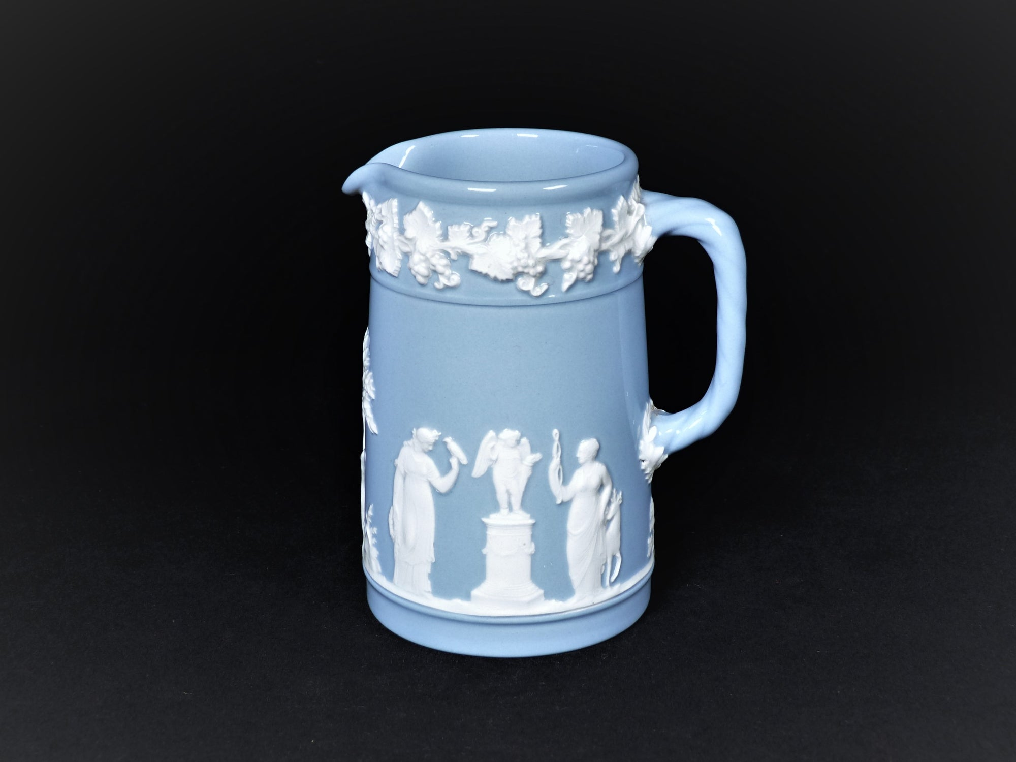 Wedgwood Queen's Ware Blue Small Jug