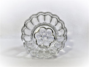 Vintage Glass jelly Mould, 600 ml / 1 Pint, Blancmange Mould