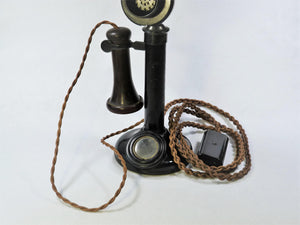 Original 1920's GPO Candlestick Telephone, PL 234 No 22, Untested, Part Bakelite