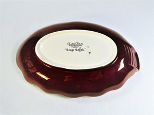 Carlton Ware Rouge Royale Serving Dish, Small Platter
