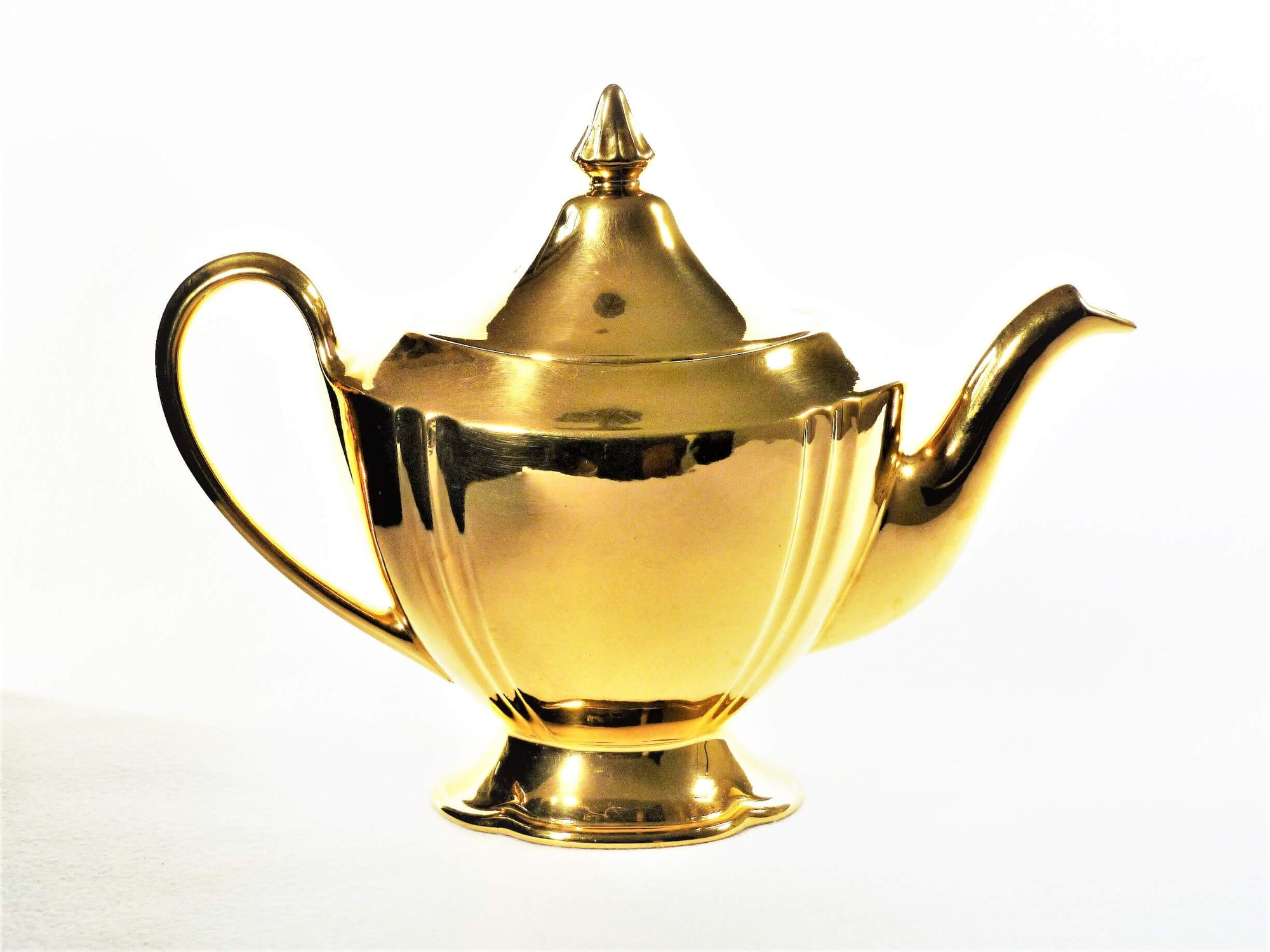 "Royal Winton Grimwades Teapot, ""Golden Age"", Very Hollywood"