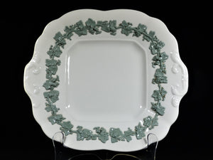 Queen's Ware Cake Plate, Wedgwood Plate, Pretty Colour