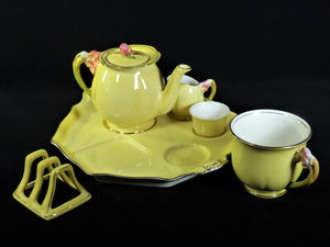 Royal Winton Grimwades, Tiger Lily Breakfast Set, Beautiful Fresh Colours