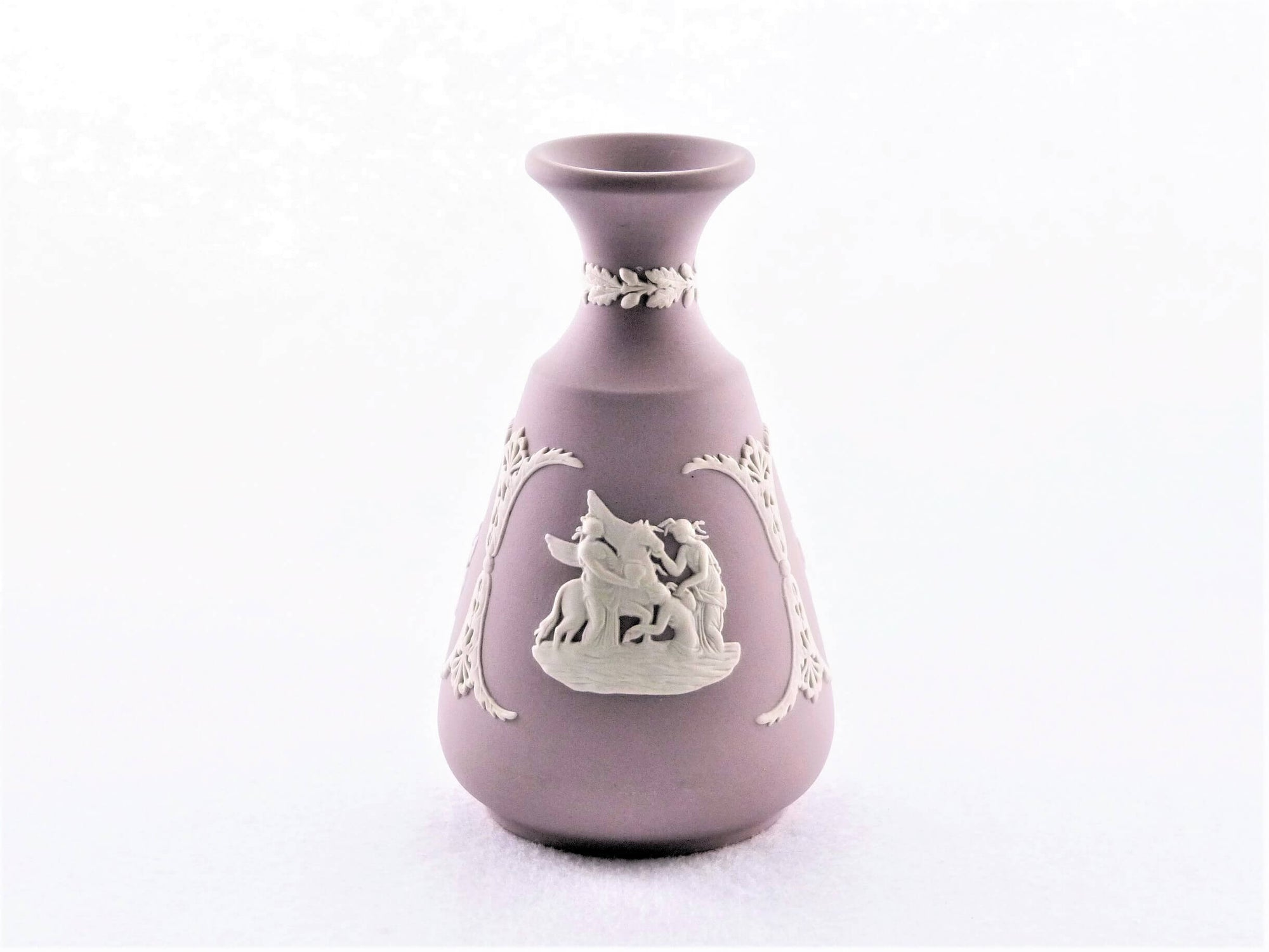 Lilac Wedgwood Jasperware Vase, Pretty Small Vase