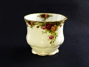 Old Country Roses Planter Pot, Royal Albert, Gardening Collectable, Indoor Plant Pot