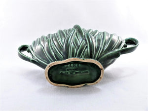 Sylvac Decorative Vase, No 2484, Green Hyacinth Design