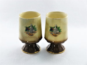 "SylvaC ""Cavalier"" Goblet / Mug, Pair of Goblets, Home Bar Decor"