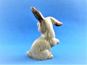 Vintage Sylvac Lop -Eared Rabbit, No 1302, Collectible SylvaC Ornament