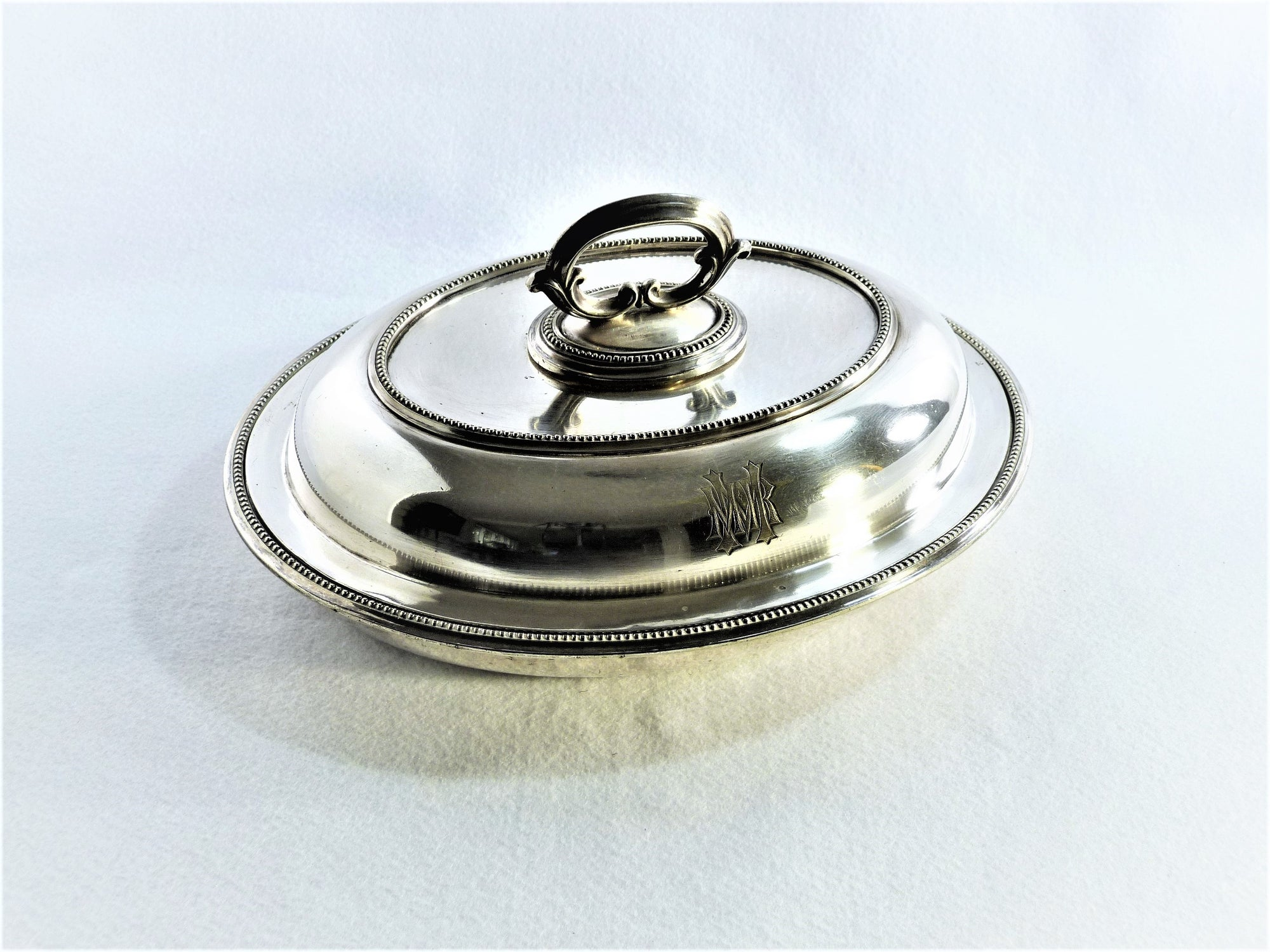 Vintage Silver-Plated Covered Vegetable Dish, Elkington & Co