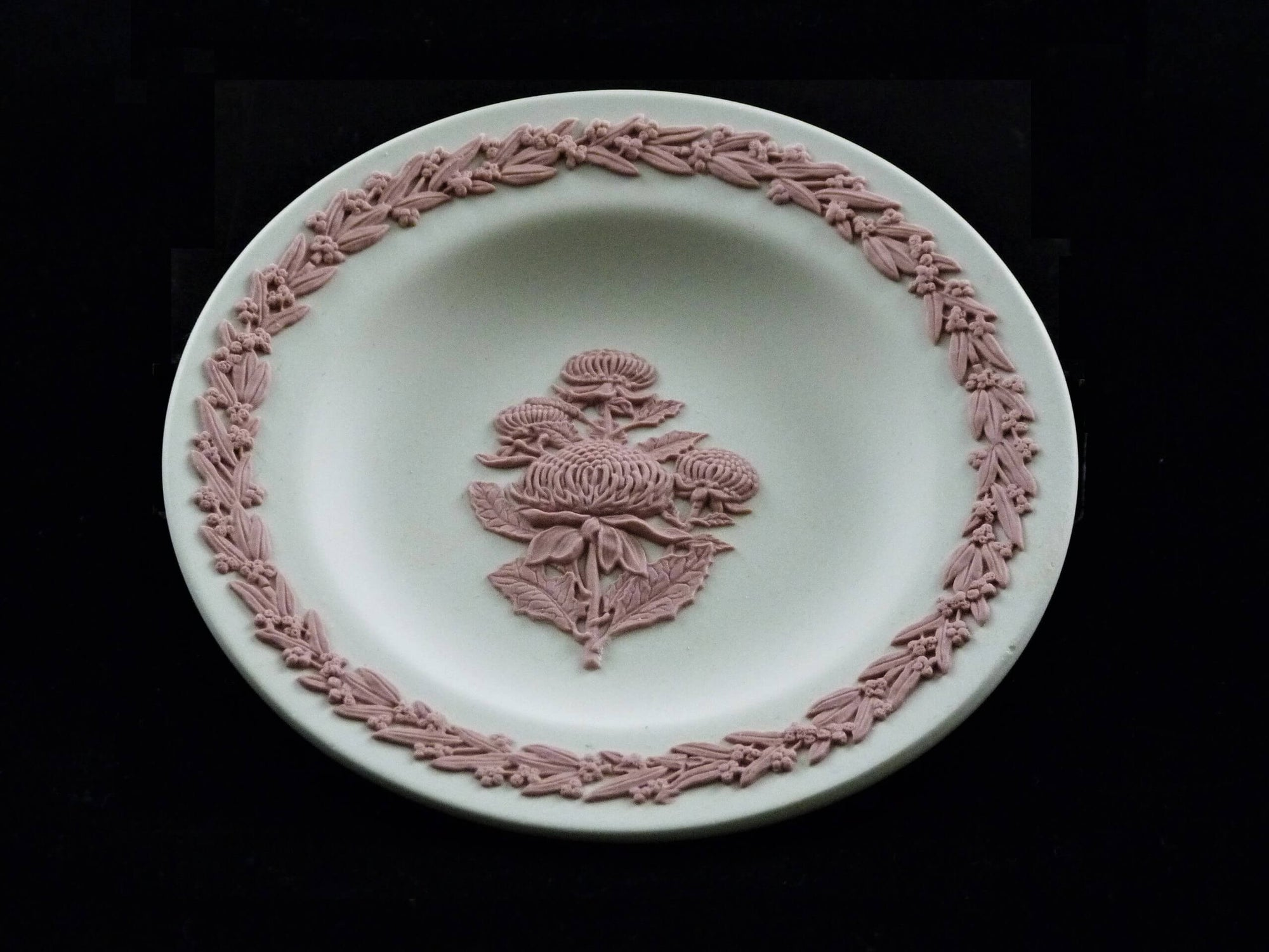 Wedgwood Waratah Miniature Plate, Ltd Ed 10,000, Collectors Society