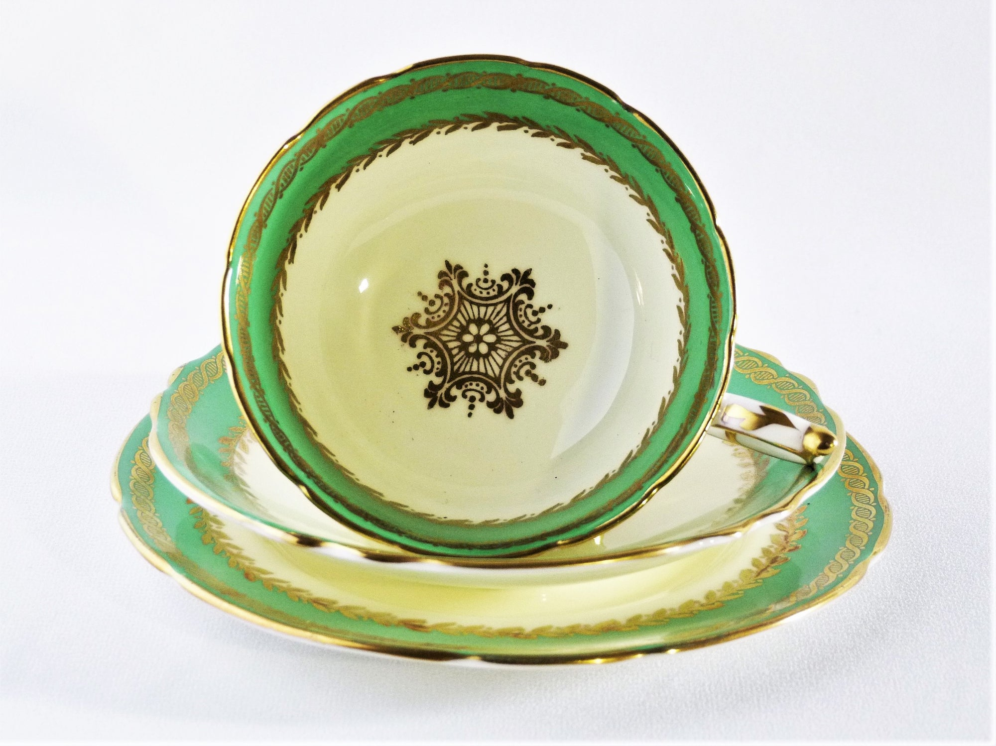 Paragon Cup, Saucer and Plate, Fine Bone China, English 1936 - 53