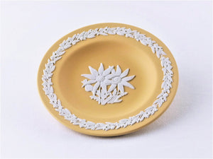 Wedgwood Flannel Flower Miniature Plate, Only 7,500 Worldwide, Collectors Society