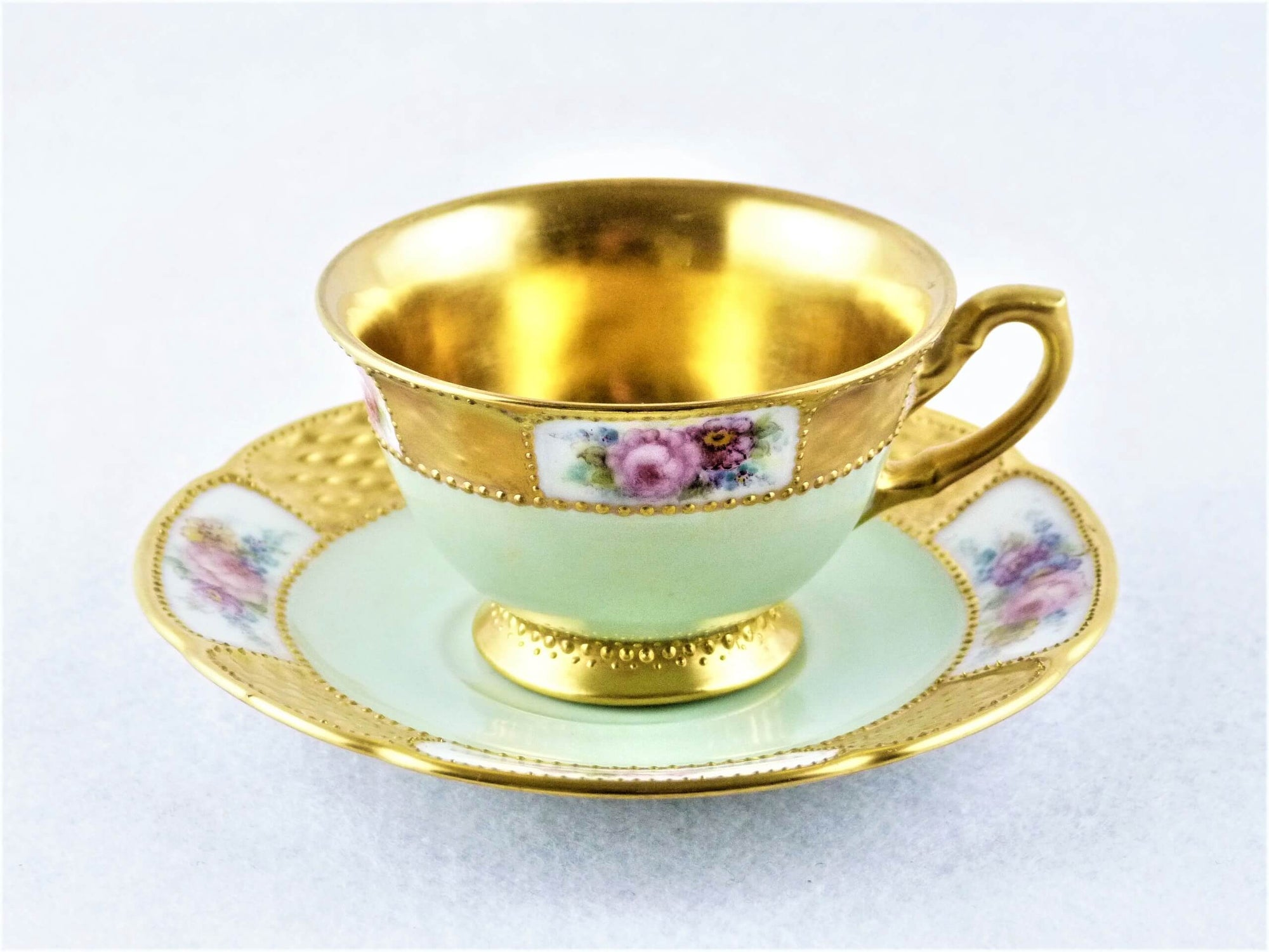 Rosenthal Demitasse Cup and Saucer, Signed, 1927, Exquisite