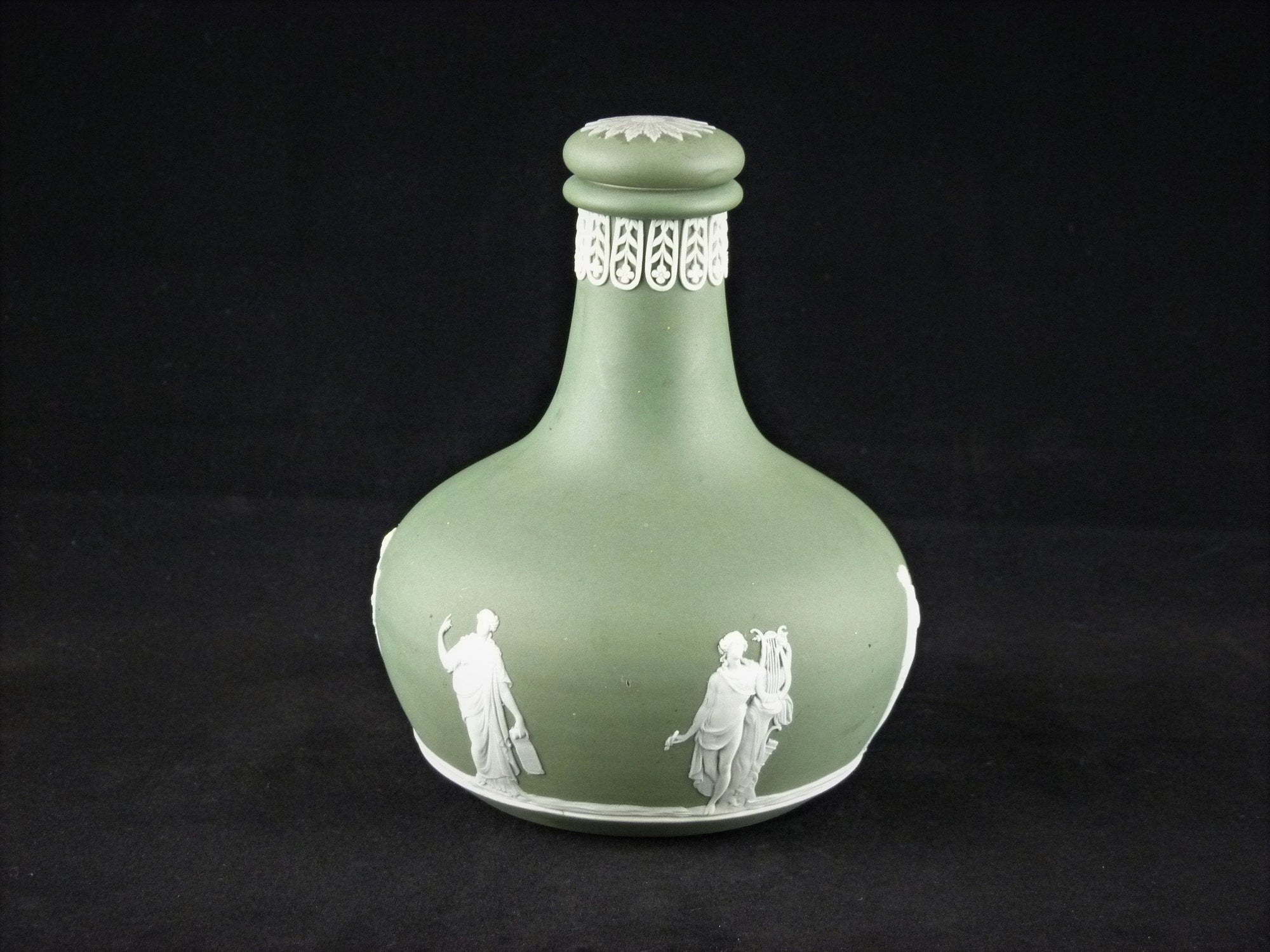 Wedgwood Jasperware Decanter made for Humphery Taylor & Co, 1920's