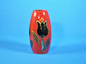 Anita Harris Art Pottery, Black Tulip Vase