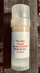Paradise Found Body Butter 2 oz Roll-Up