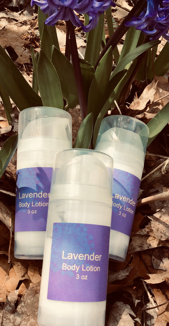 Lavender Body Lotion 3 oz