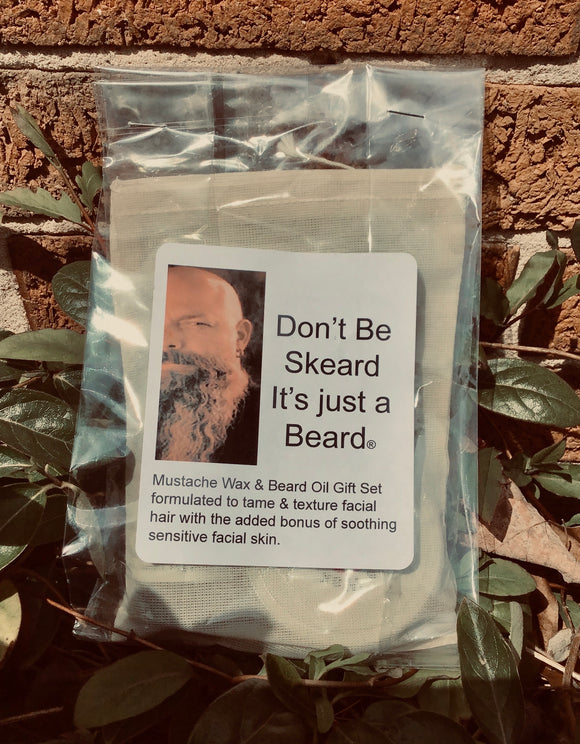 Don't Be Skeard, It's just a Beard Gift Set