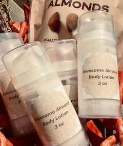Awesome Almond Body Lotion - 3 ounces