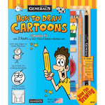 Load image into Gallery viewer, How To Draw Cartoons! Kit