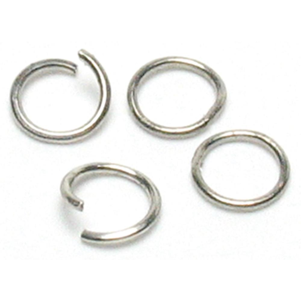 Jewellery Basics Metal Findings - Jump Rings - 300 Pieces
