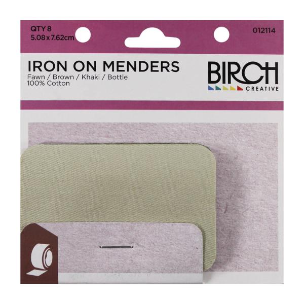 Iron on Menders 8 Pack