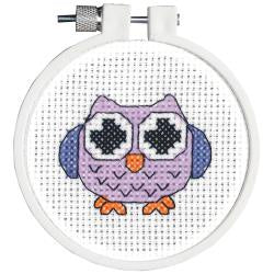Counted Cross Stitch - Owl