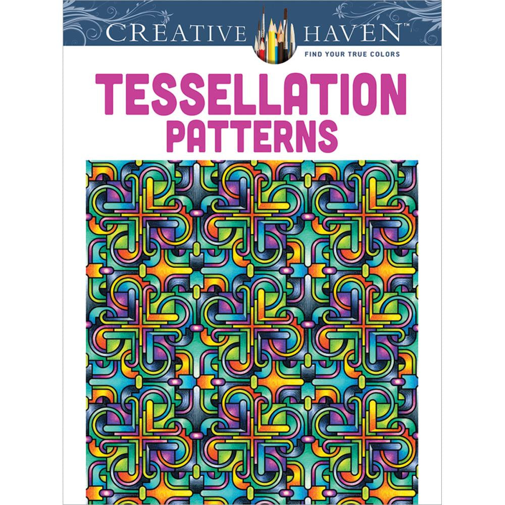 Tessellation Patterns - Colouring Book