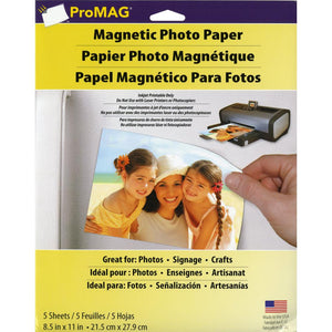 ProMag Magnetic Photo Paper