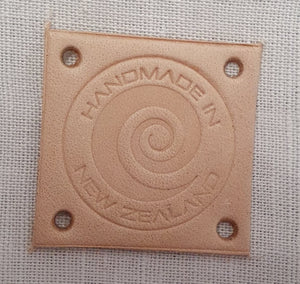 Leather Labels - Handmande in NZ