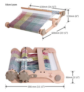 "Knitters Loom 50cm / 20"""" with carry bag - includes second heddle kit"