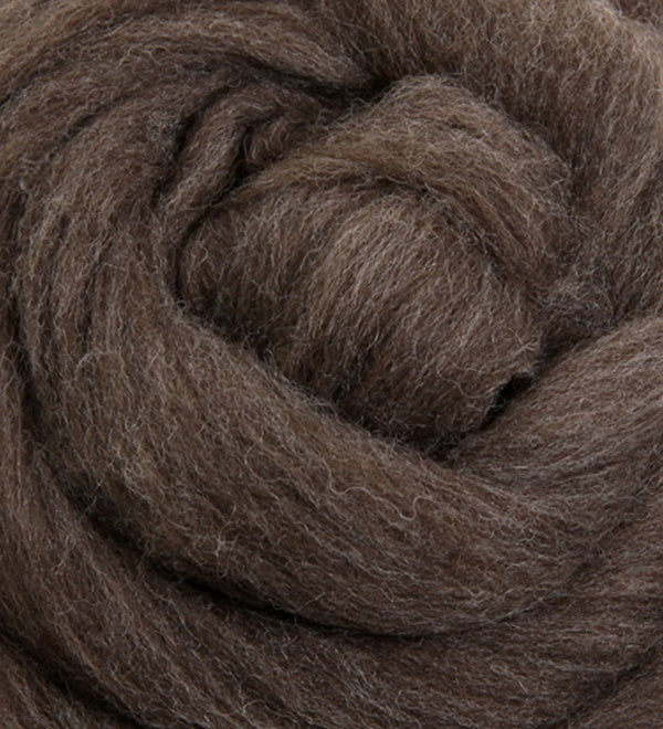 Merino Fibre (22.5 micron) Natural Colours  500gm Bump