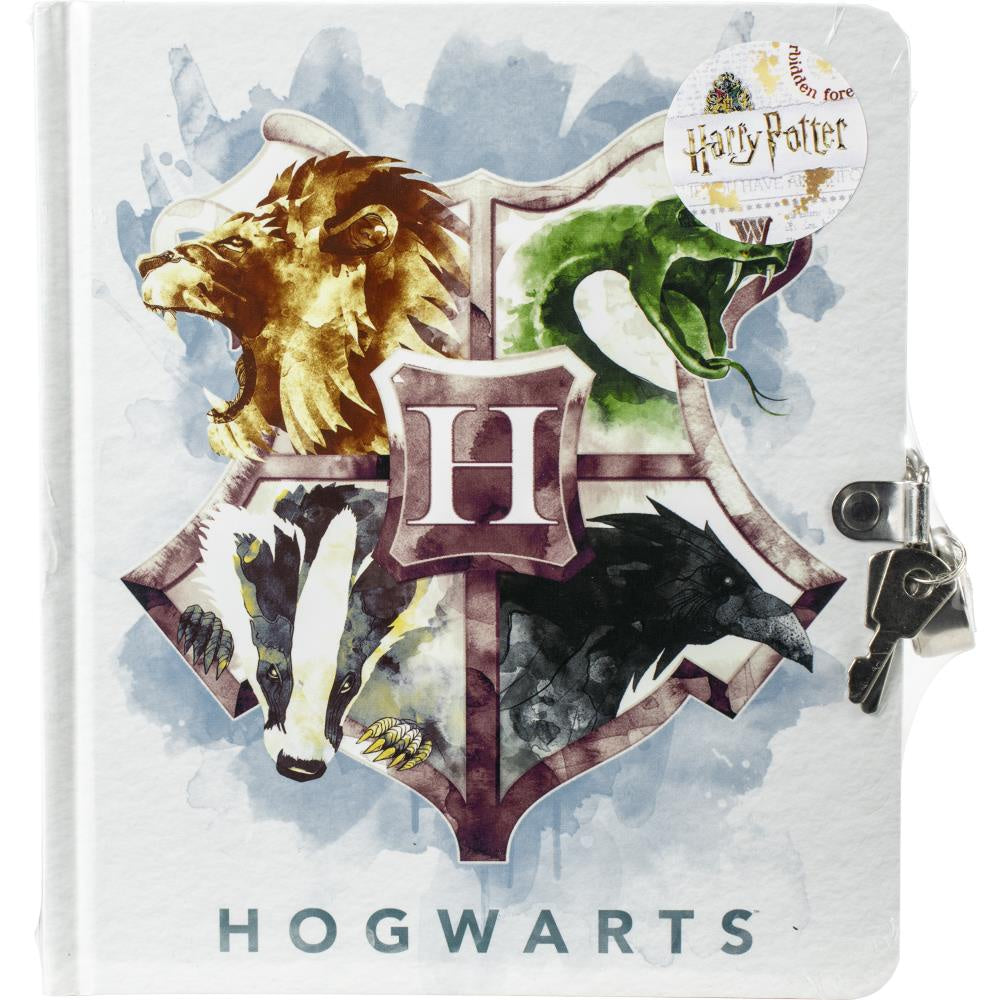 Harry Potter™ Watercolor Crest Diary