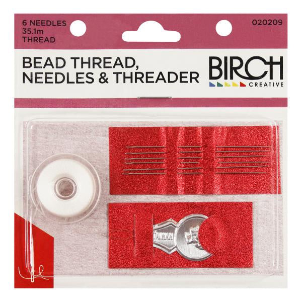 Bead Thread Needles & Threader