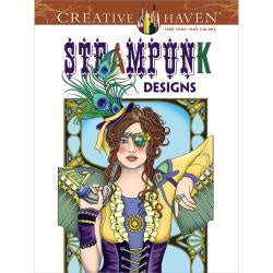 Steampunk Designs - Colouring Book
