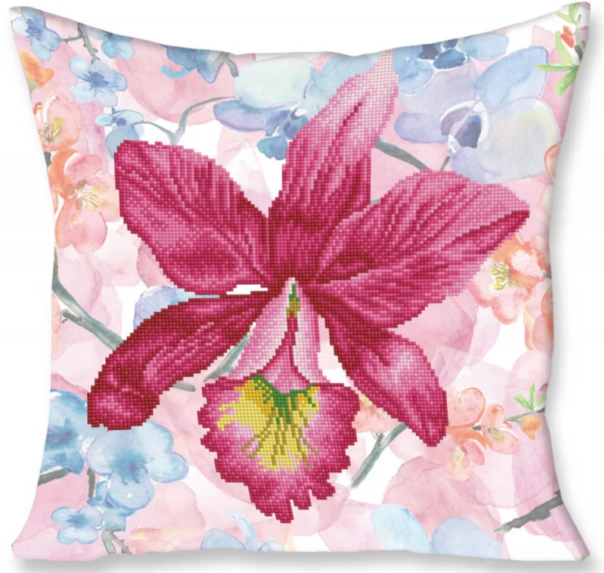 Diamond Dotz - Cushion - Sparkle Garden Pink