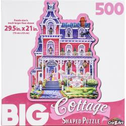 Big Shaped Jigsaw Puzzle - Rose Trellis Inn - 500 Piece