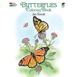 Butterflies - Colouring Book