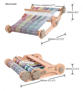 "Knitters Loom 30cm / 12"""" with carry bag - includes second heddle kit"""