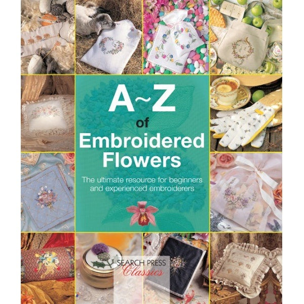 A-Z of Embroided Flowers