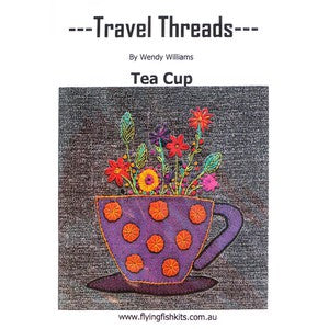 Travel Threads Teacup